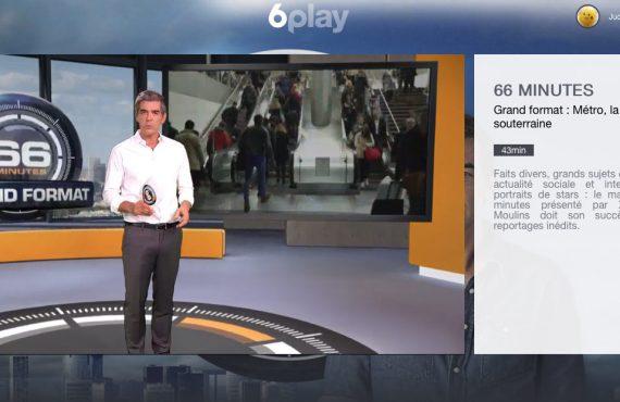Electroman dans l'émission 66 min d'M6, 02/10/2016