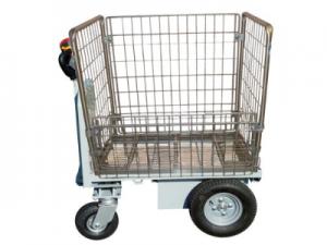 Chariot électrique avec panier