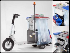 Tracteur électrique avec cleaning kit