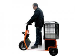 Tracteur électrique conduite debout