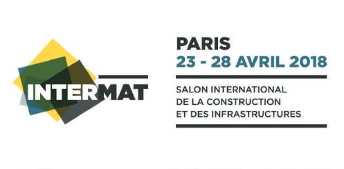 Salon Intermat logo texte dates
