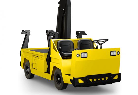 MX-480 : Camion-grue électrique