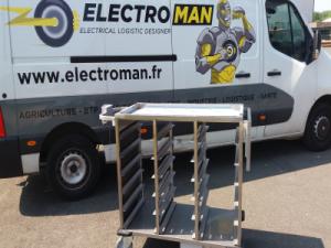 Kit de motorisation électrique pour chariot