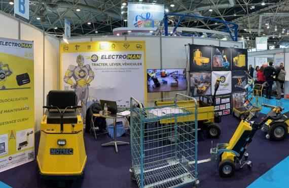 Stand Electroman salon EUROPACK EUROMANUT CFIA Lyon 2019